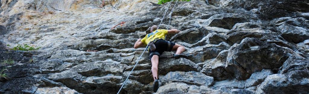 Outdoor Klettern - Bouldern im Freien