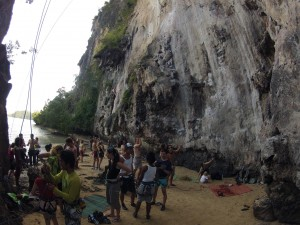 Railay East Rock Climbing