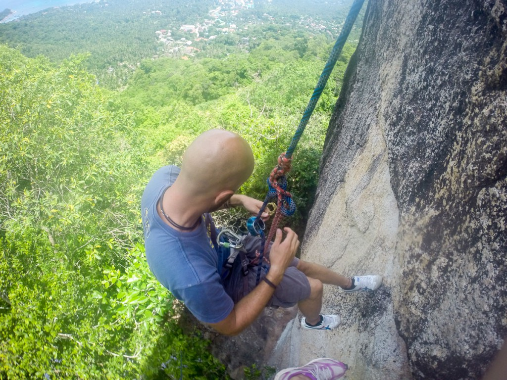 Kletterkurs Thailand