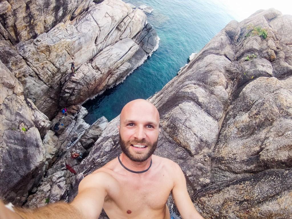 Rock Climbing Lang Khaai Koh Tao