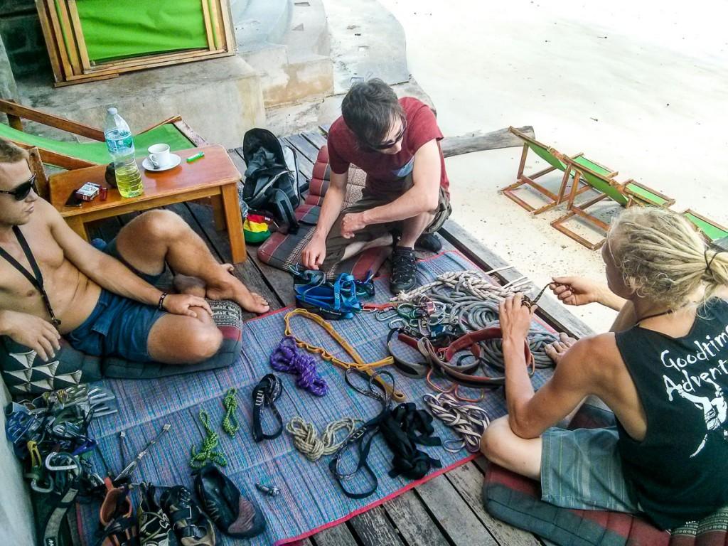 Kletterkurs Koh Tao Einsteiger Fortgeschrittene