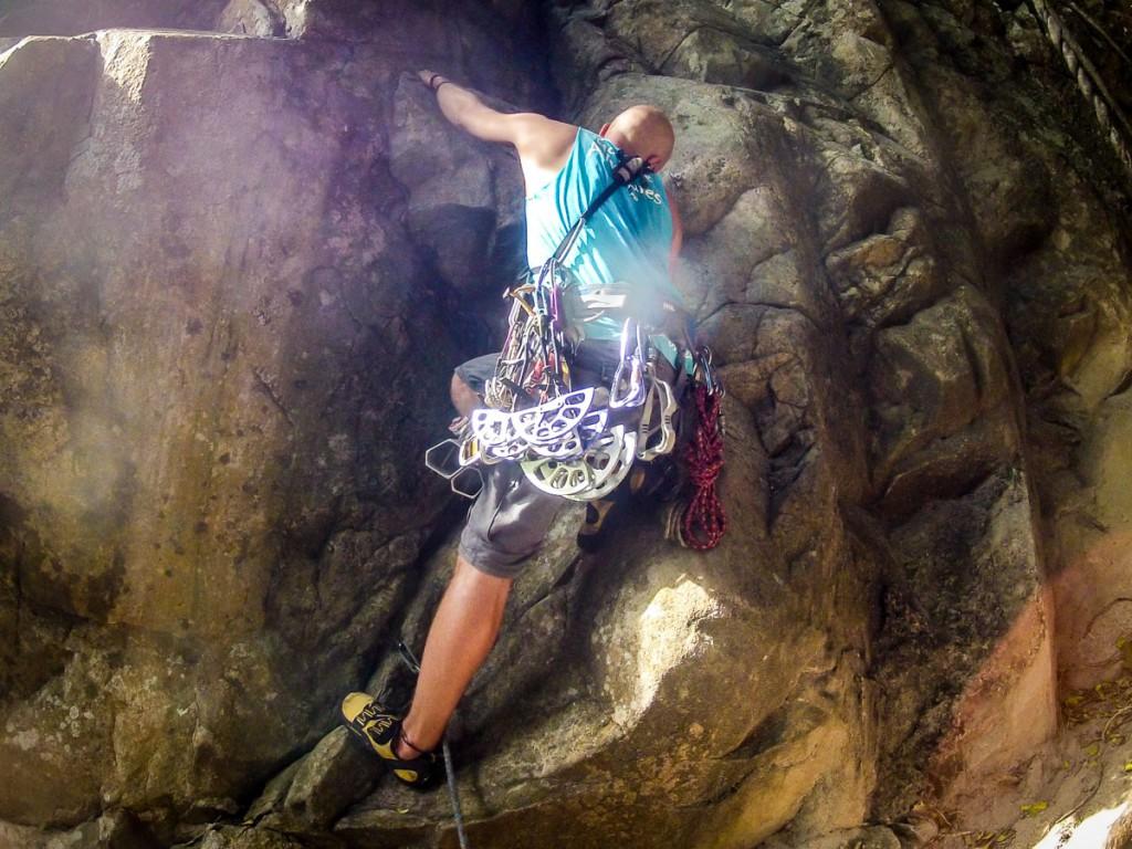 Koh Tao Trad Climbing